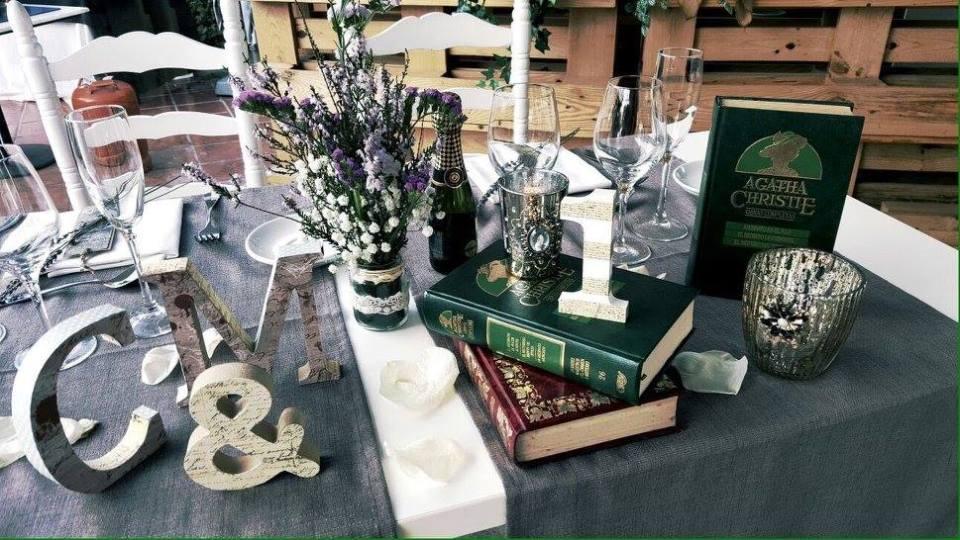 organizacion boda sencilla banquete lazos de chocolate